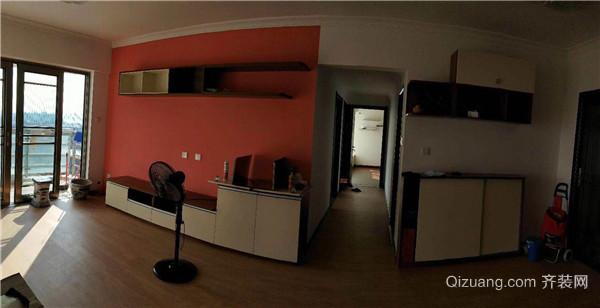 机场路边检站宿舍中式风格装修效果图实景图