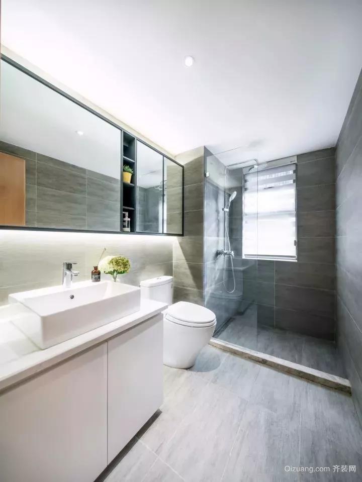 公寓现代简约装修效果图实景图