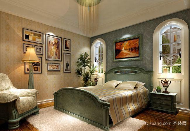 棕榈美式风格装修效果图实景图