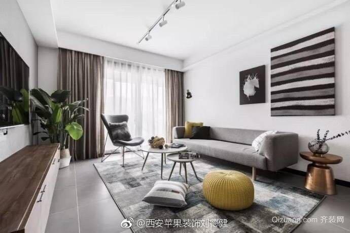 御锦城现代简约装修效果图实景图