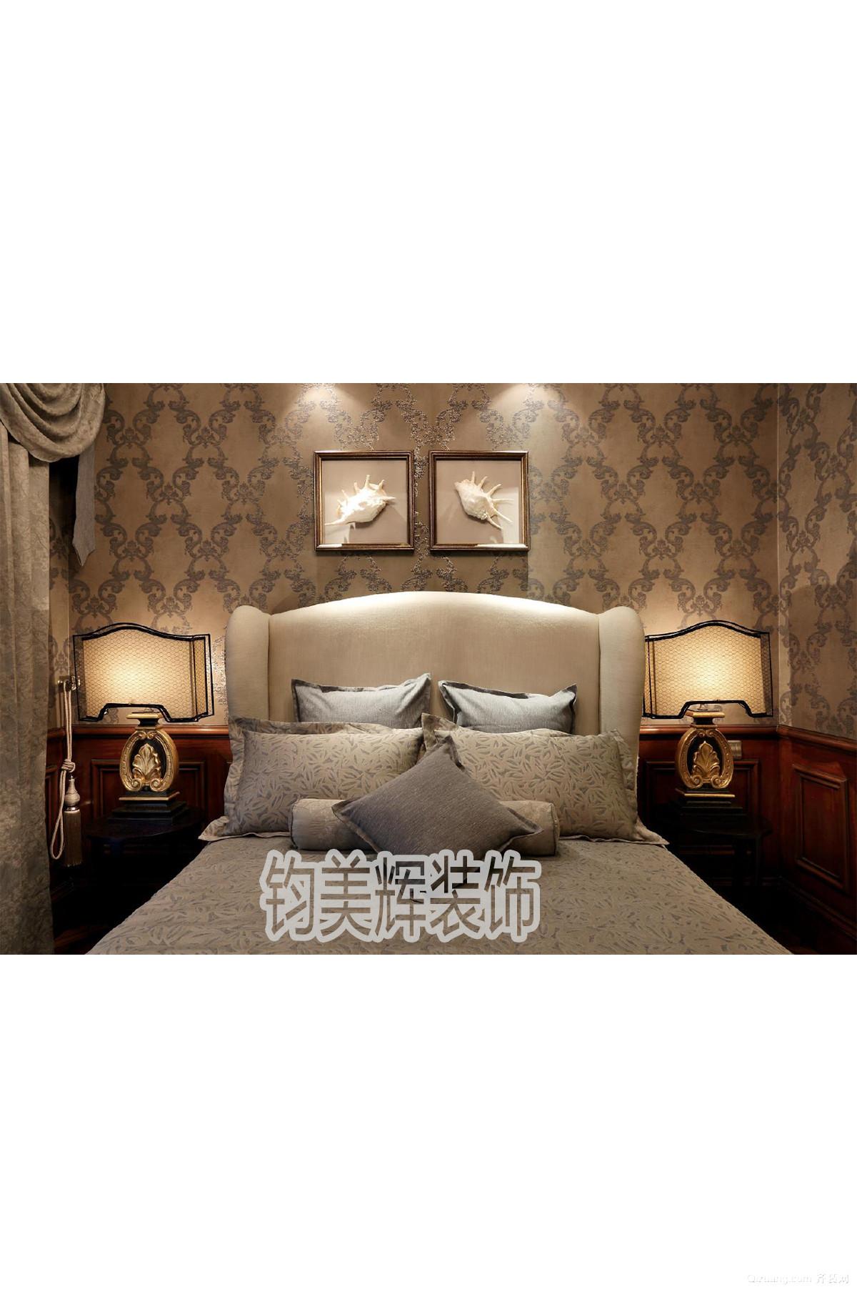 金色家园美式风格装修效果图实景图