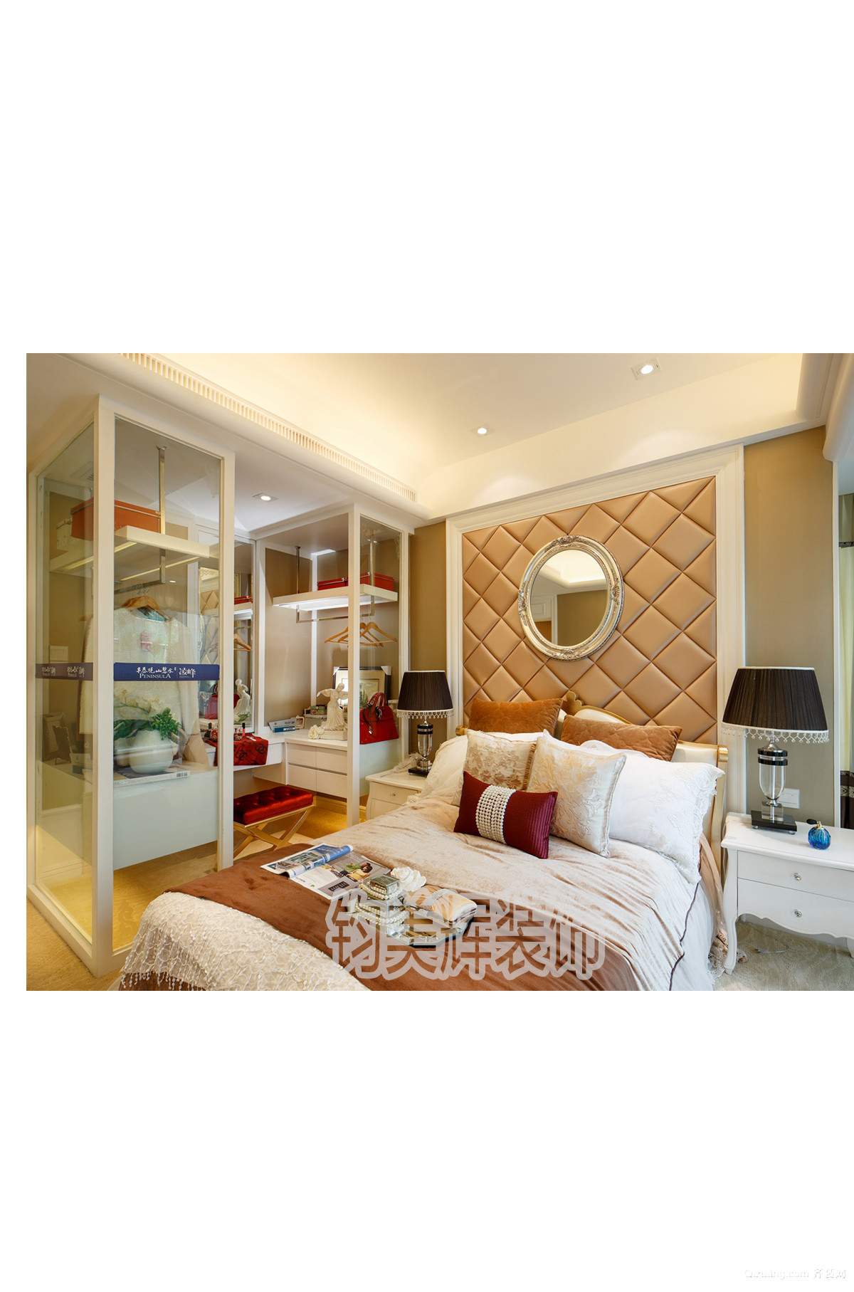 安居家园欧式风格装修效果图实景图