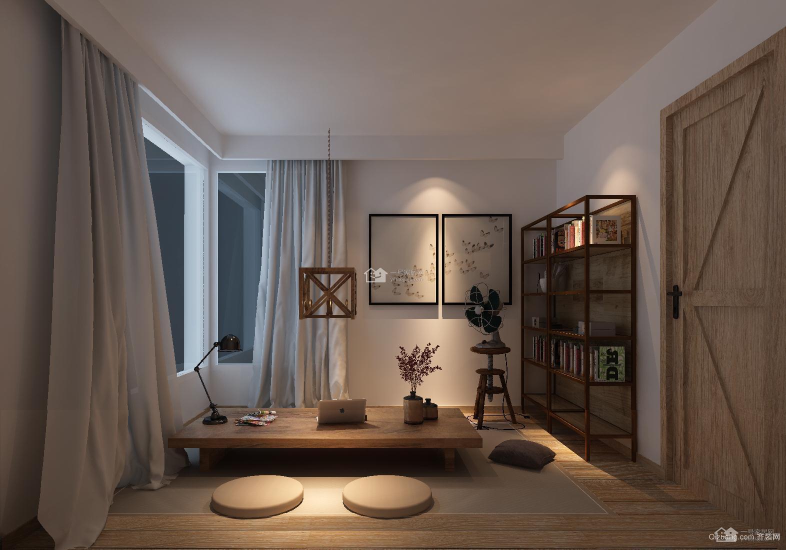 聚丰公寓现代简约装修效果图实景图