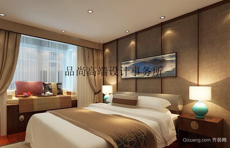吴中天悦公馆中式风格装修效果图实景图