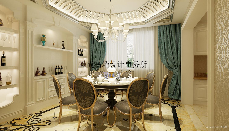 中海紫金苑美式风格装修效果图实景图