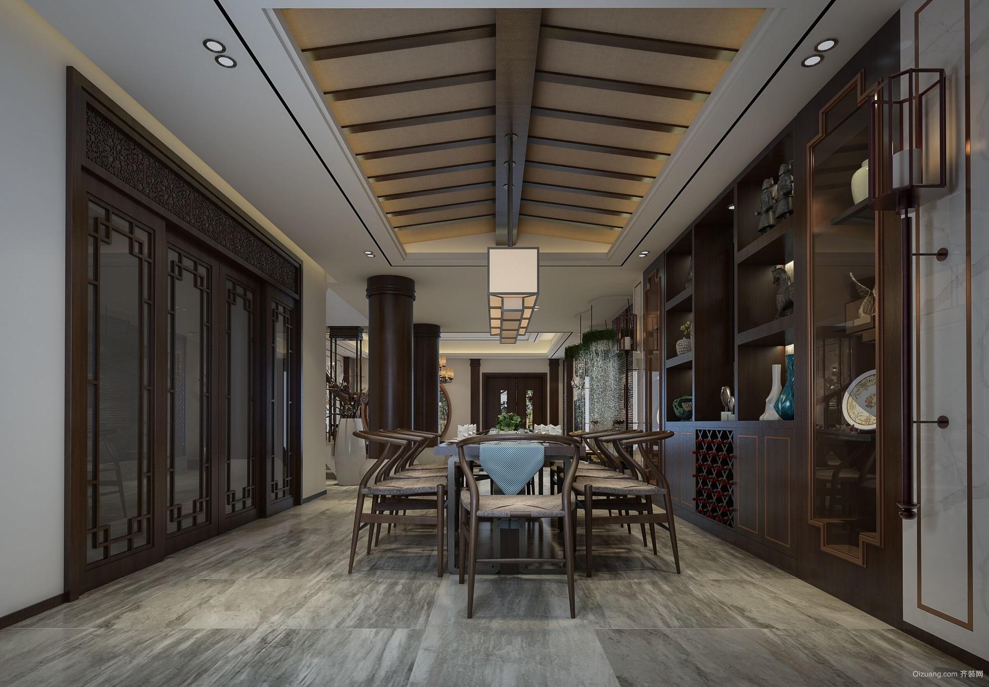 阳光城翡丽湾中式风格装修效果图实景图