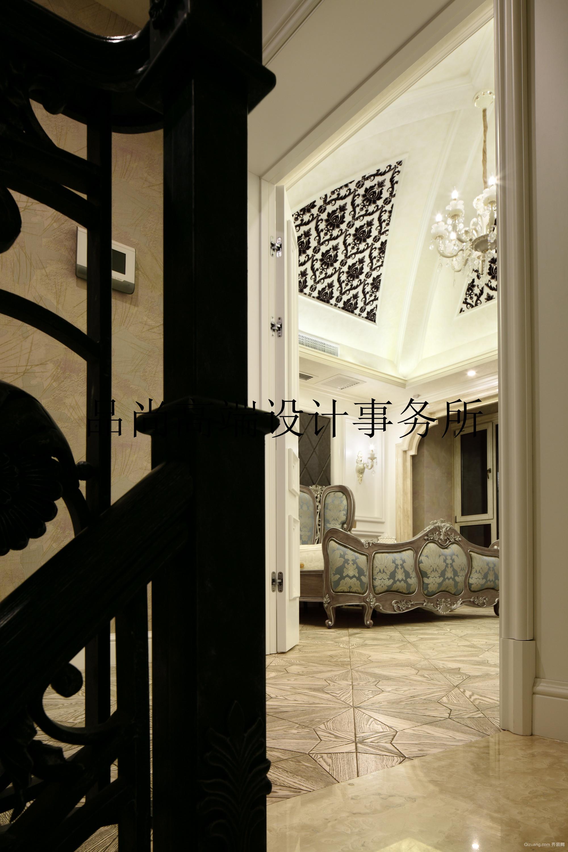 御翠园别墅古典风格装修效果图实景图