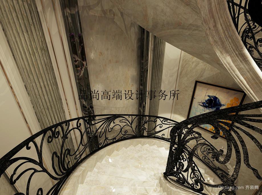 天茂湖三期温莎园欧式风格装修效果图实景图