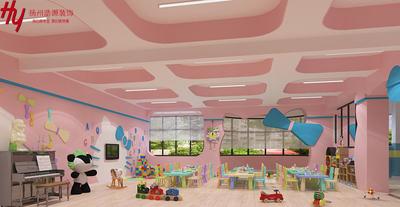 扬州幼儿园纯设计装修设计案例