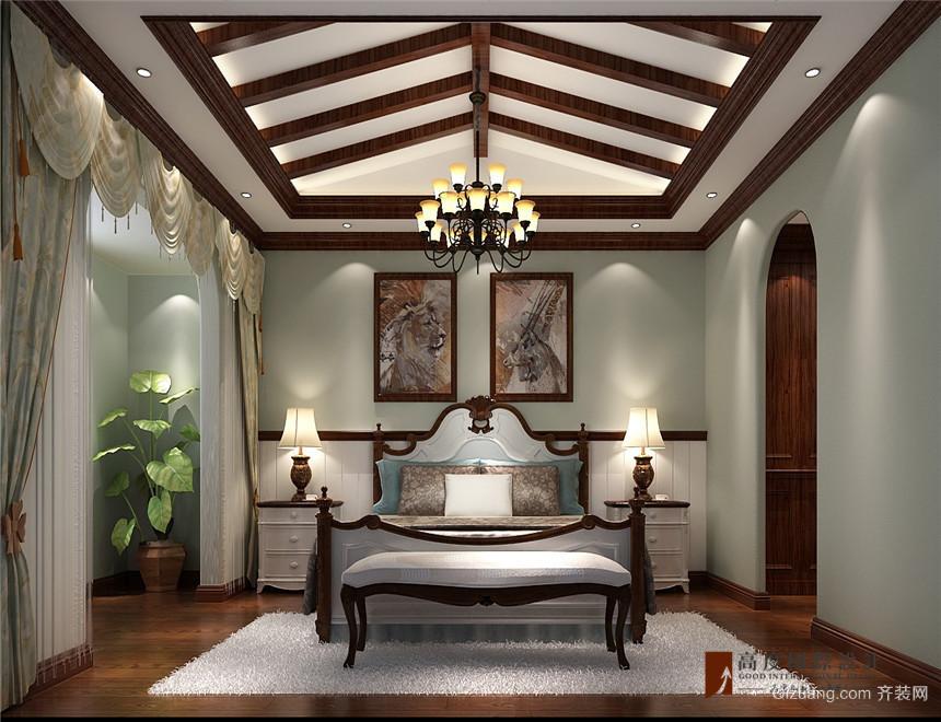 中建·红杉溪谷美式风格装修效果图实景图
