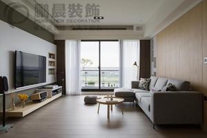 东方蓝海115平现代简约装饰效果图