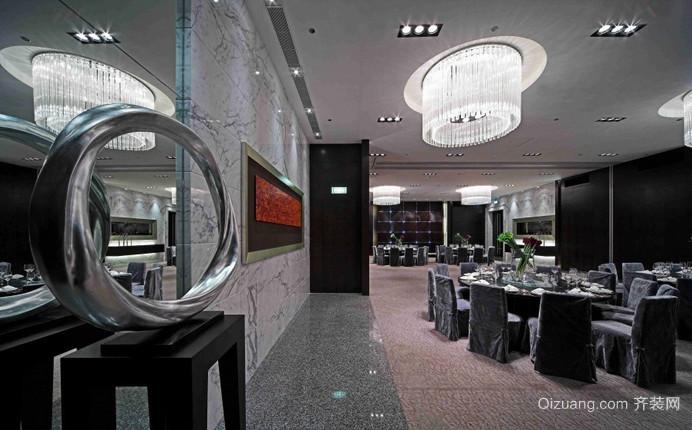餐厅现代简约装修效果图实景图