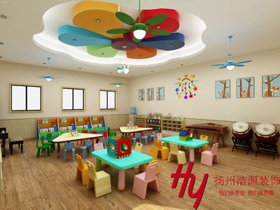 扬州幼儿园装修设计案例