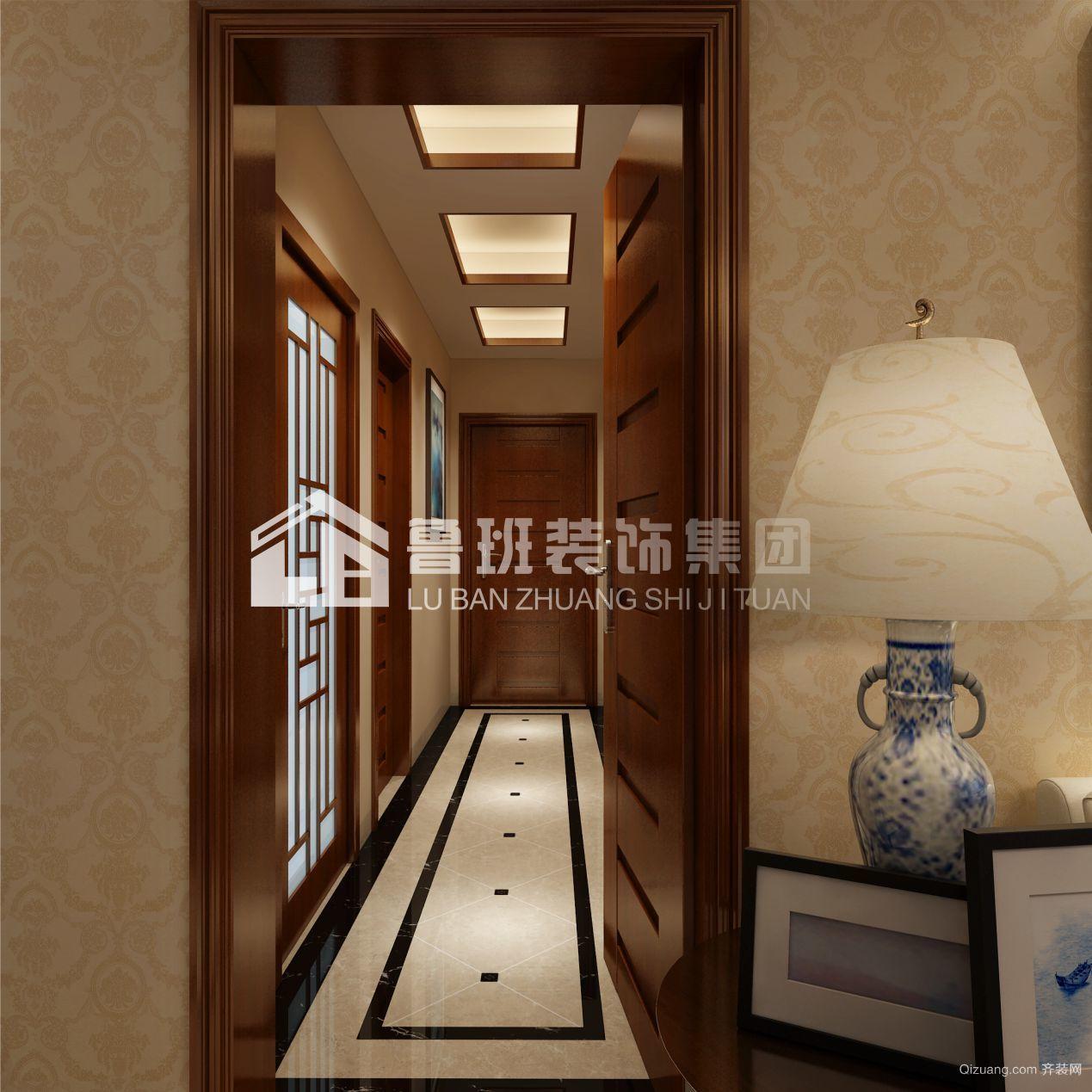 广源国际中式风格装修效果图实景图