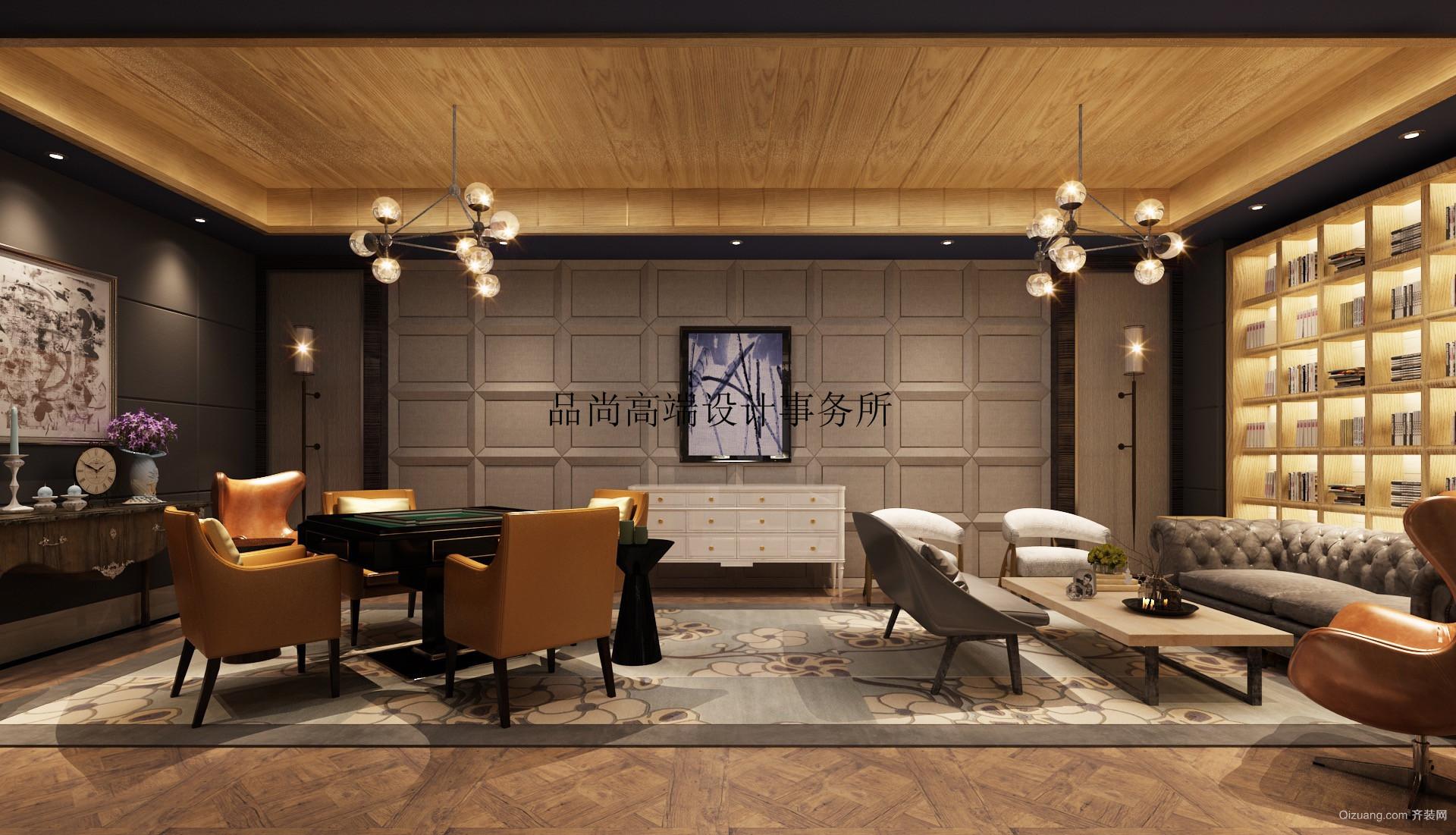 伟峰东樾别墅欧式风格装修效果图实景图