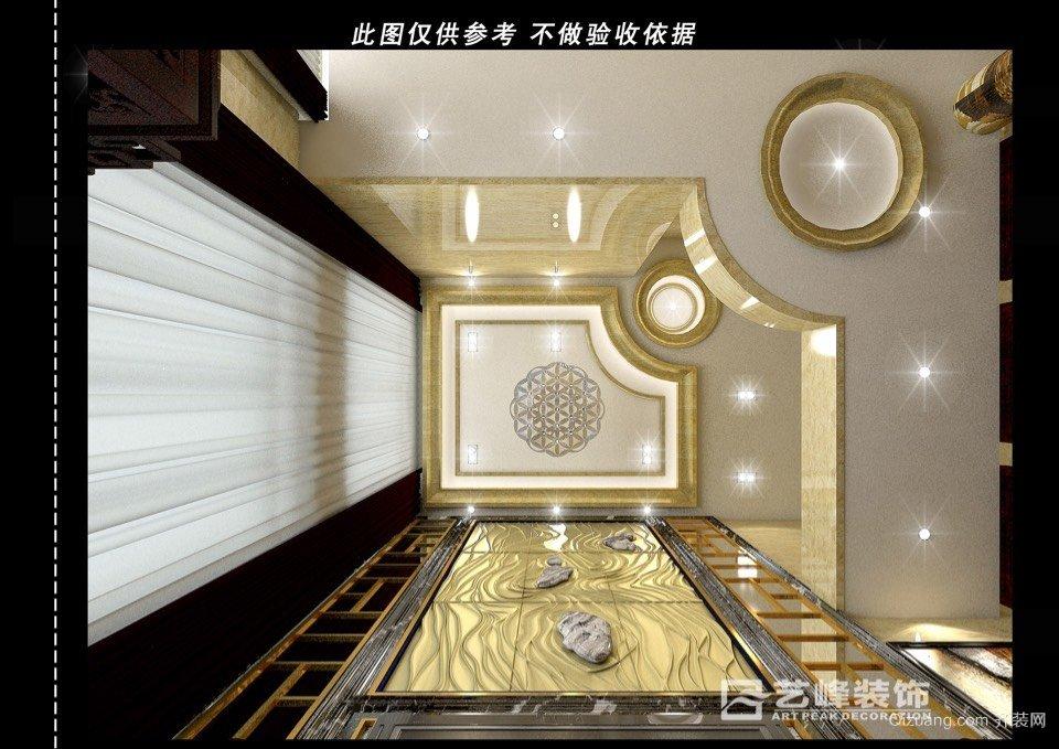 京河湾欧式风格装修效果图实景图