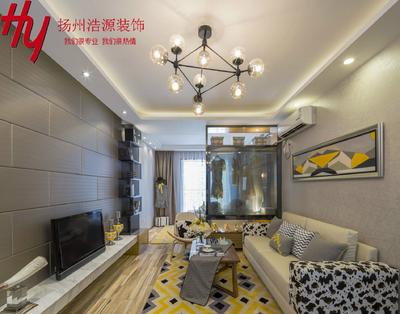扬州现代简约小户型装修设计案例