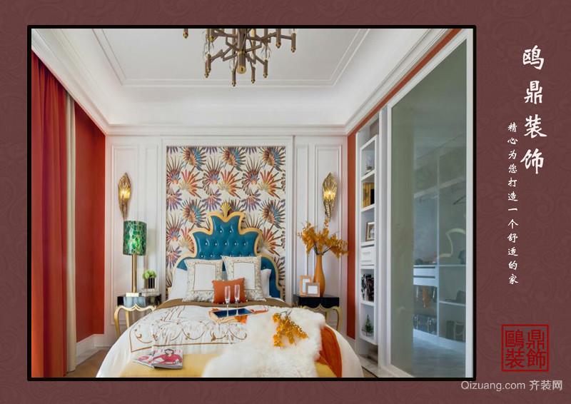 融创天鹅湖欧式风格装修效果图实景图