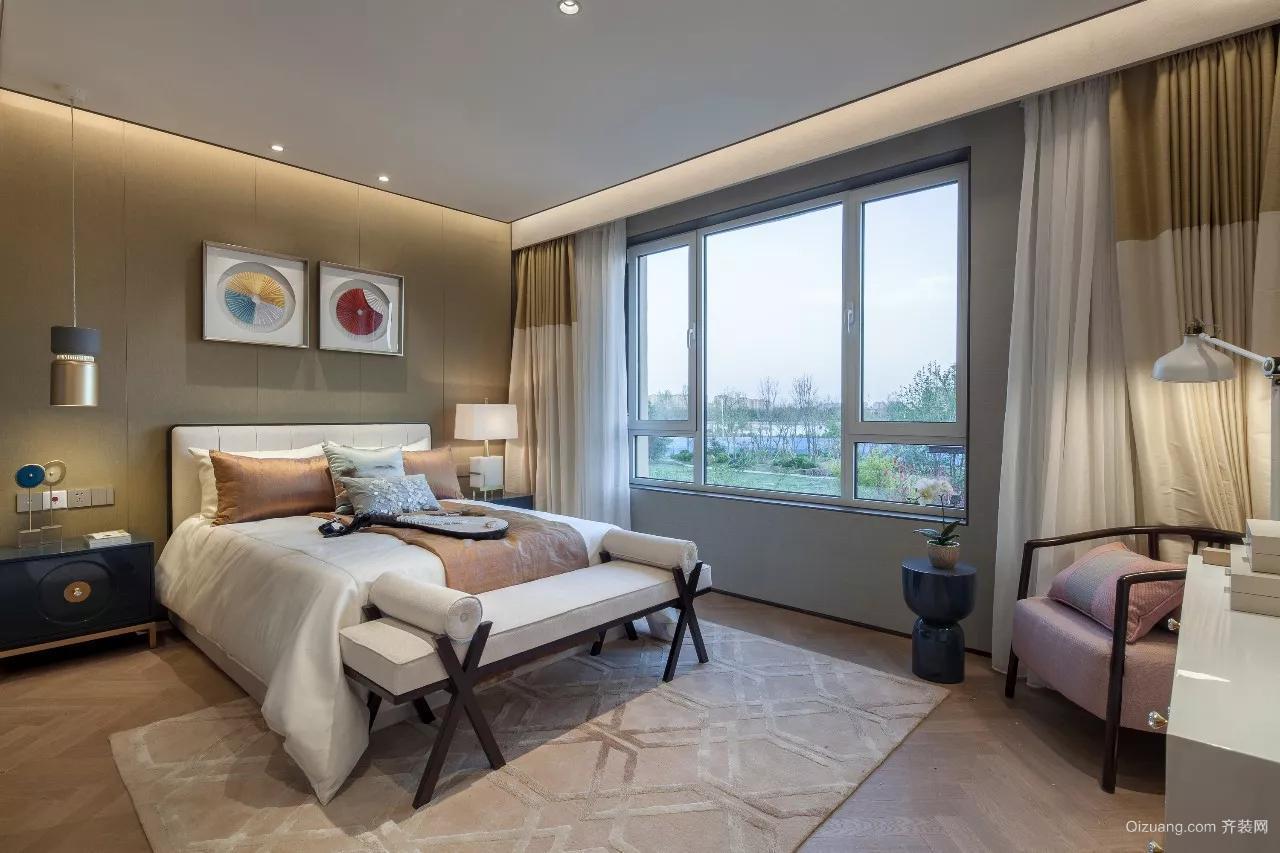 新中式别墅中式风格装修效果图实景图