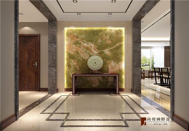 首开·璞瑅公馆中式风格装修效果图实景图