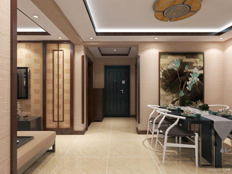 宜运家园中式风格装修效果图实景图