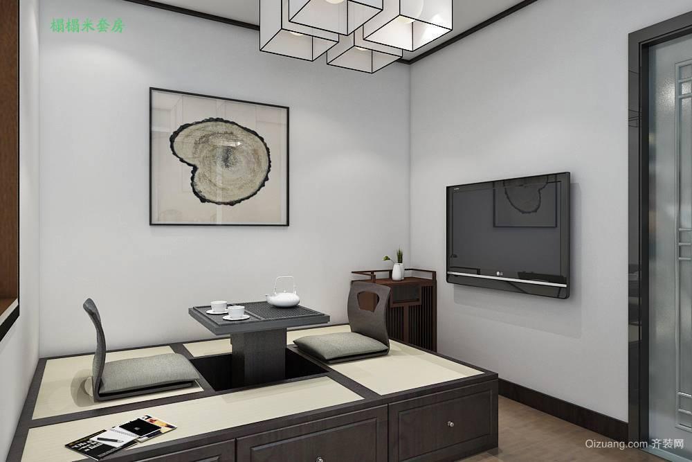 涞水四合院中式风格装修效果图实景图