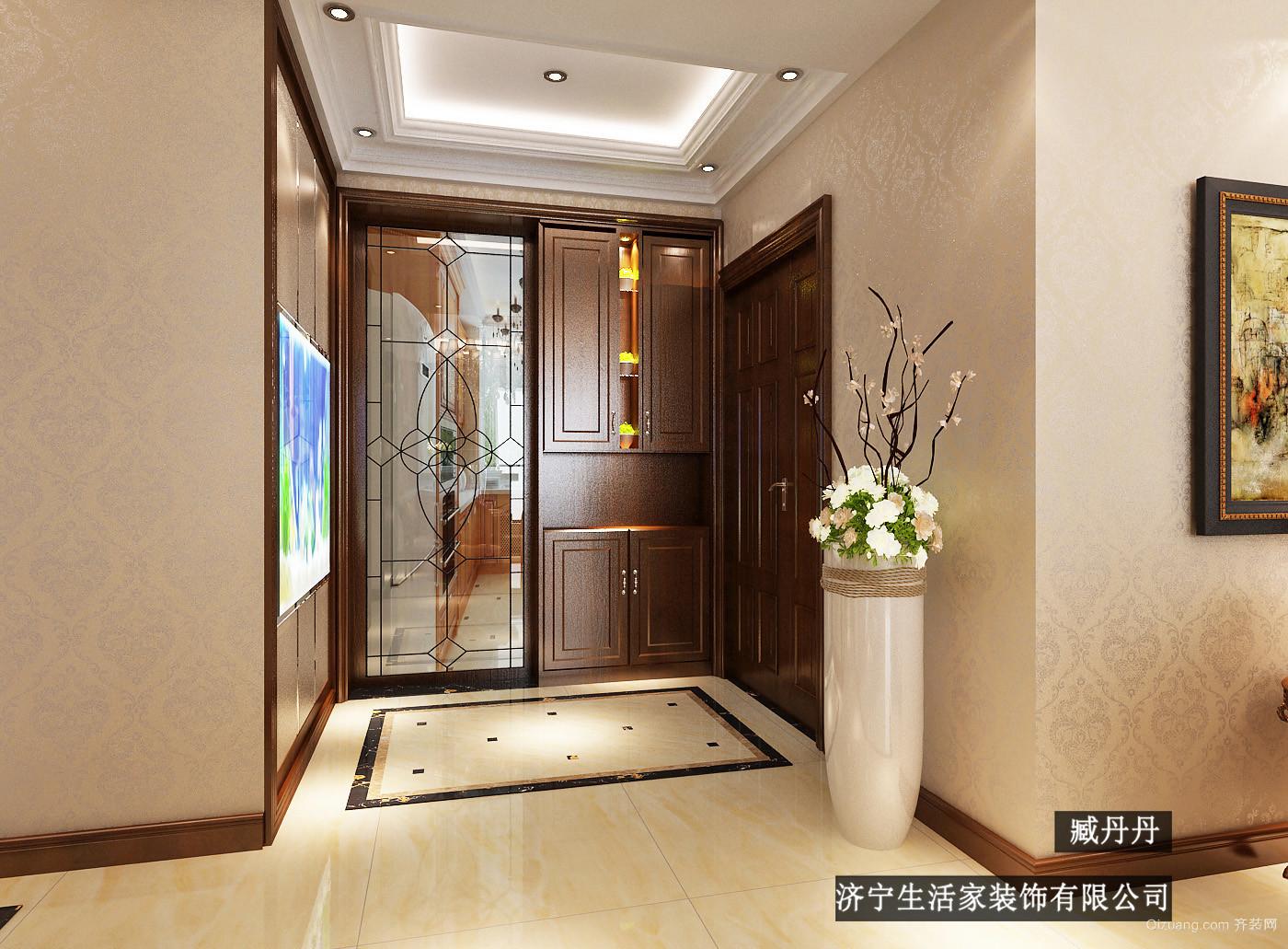 锦绣城欧式风格装修效果图实景图