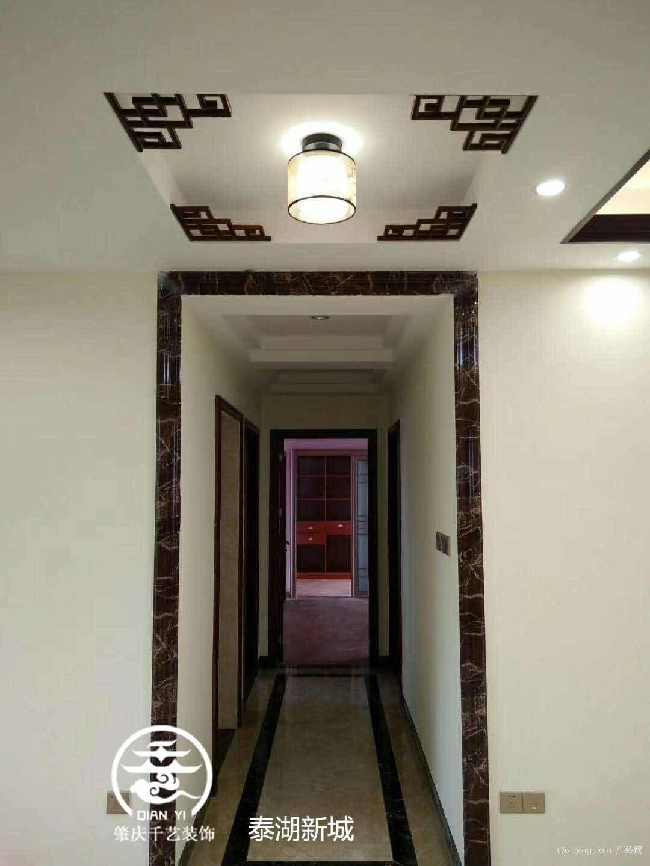 泰湖新城中式风格装修效果图实景图