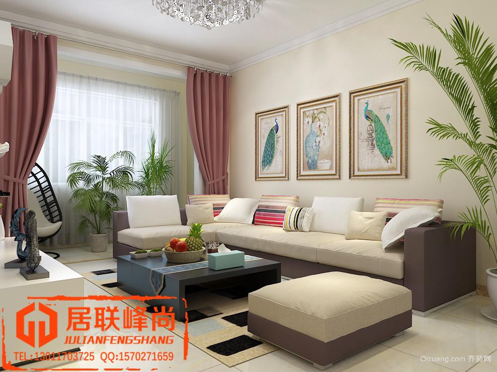 中建锦绣城现代简约装修效果图实景图