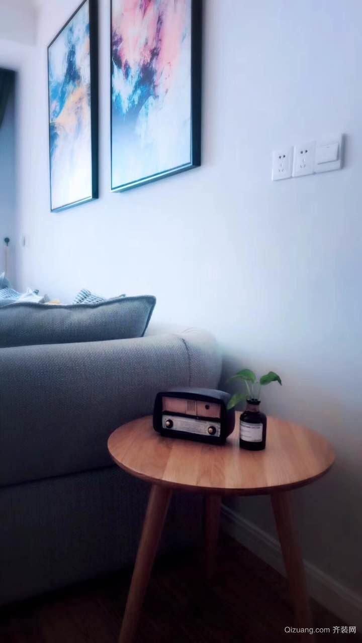 广泰锦苑现代简约装修效果图实景图