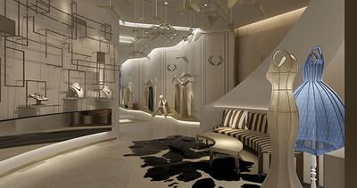 广州高档服装店装修设计装修设计案例