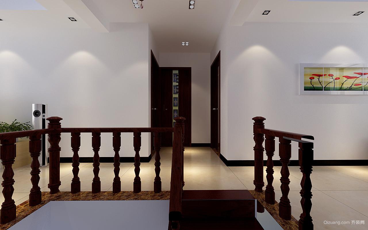 天河瑞心苑中式风格装修效果图实景图