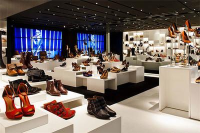 广州鞋店装修装修设计案例