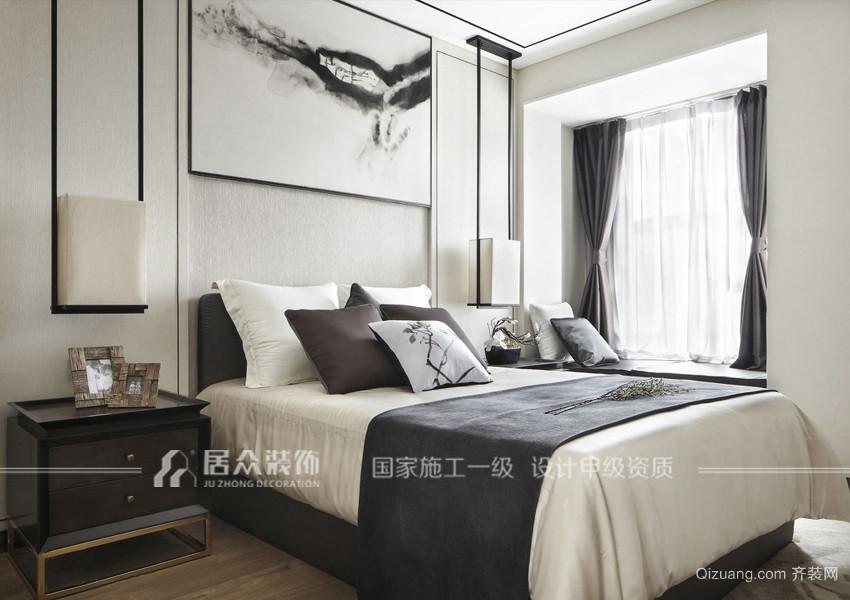 五月香山别墅中式风格装修效果图实景图