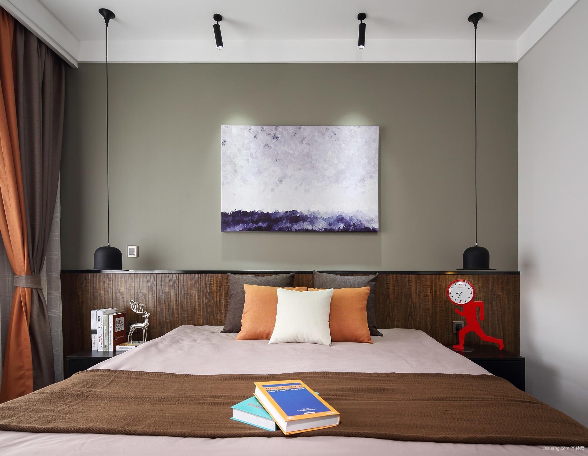 紫御江山现代简约装修效果图实景图