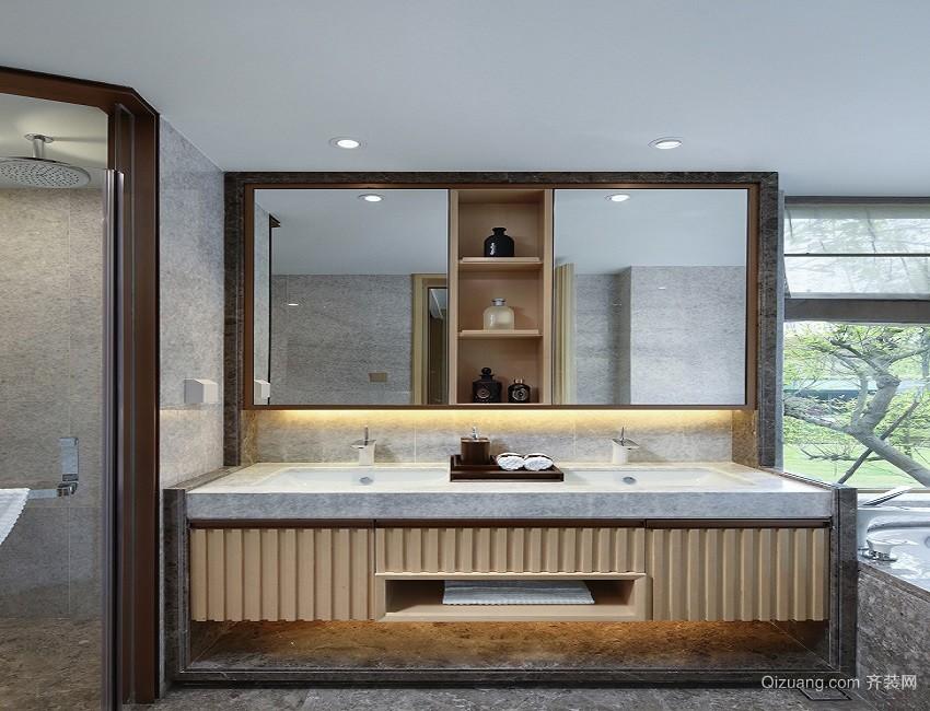白桦林家苑中式风格装修效果图实景图