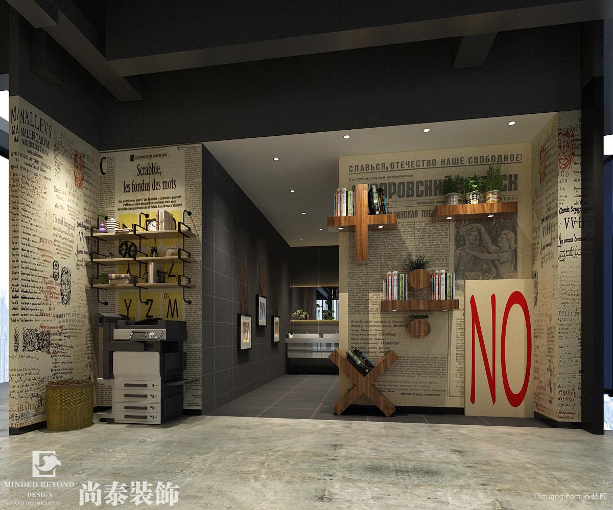 美致玩具办公室+南山万科公馆特区馆现代简约装修效果图实景图