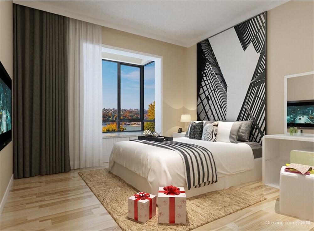 永泰枕流GOLF公寓现代简约装修效果图实景图