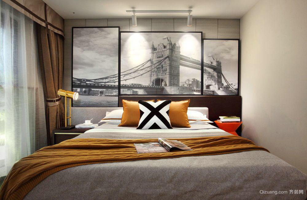 赛纳丽城现代简约装修效果图实景图