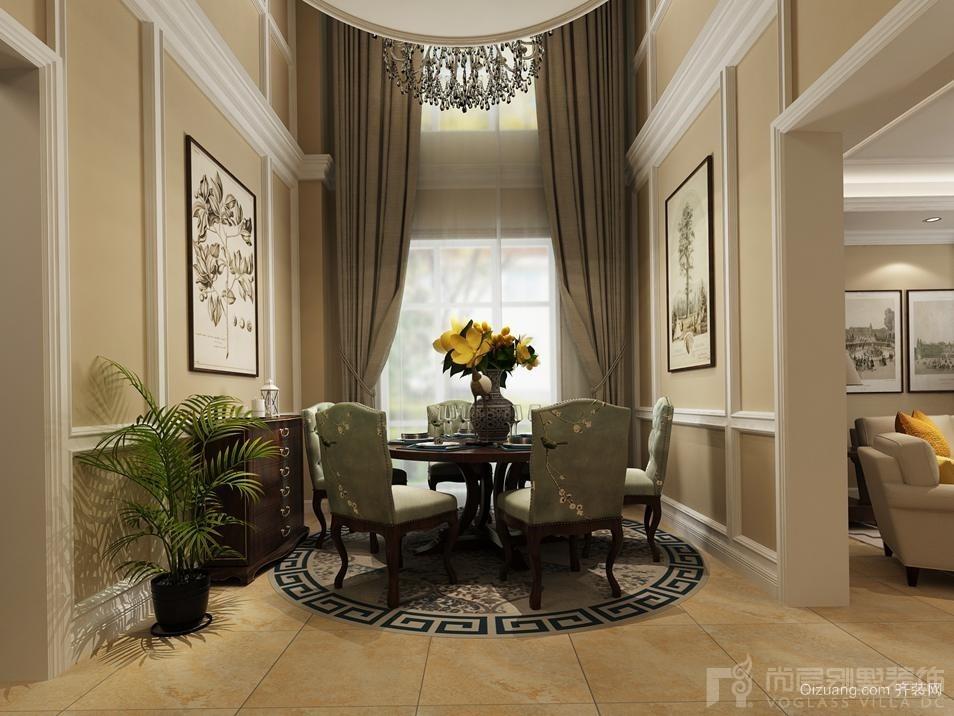 香堤庭院美式风格装修效果图实景图