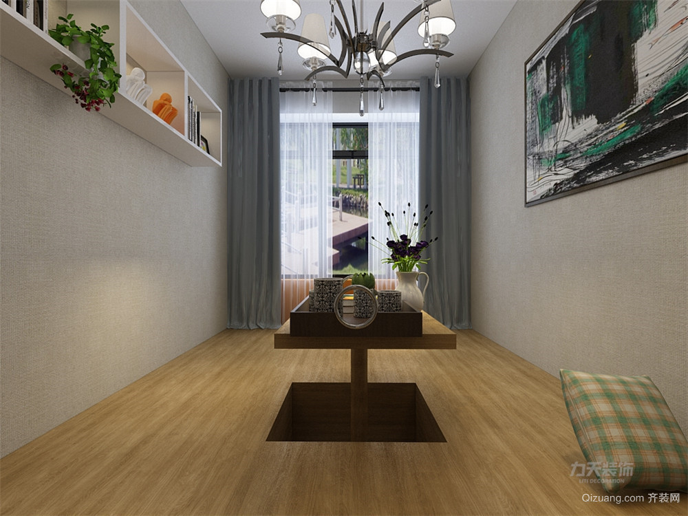 晶采大厦现代简约装修效果图实景图