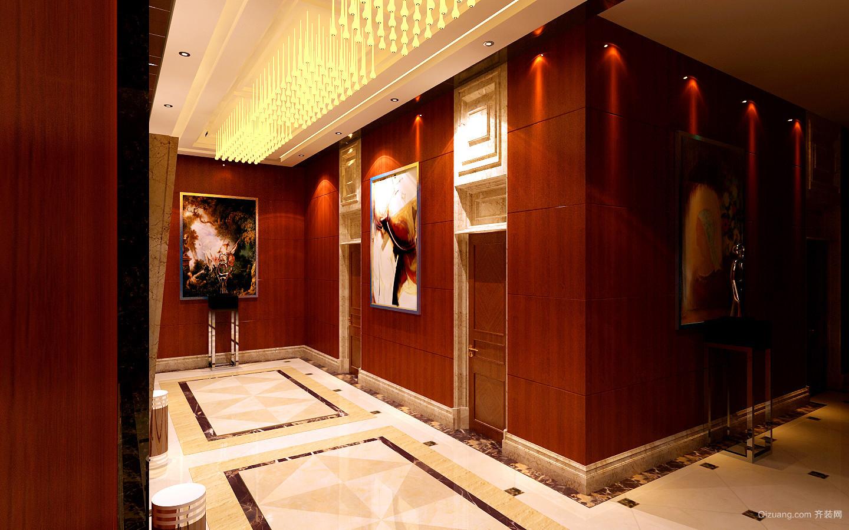四星级酒店欧式风格装修效果图实景图