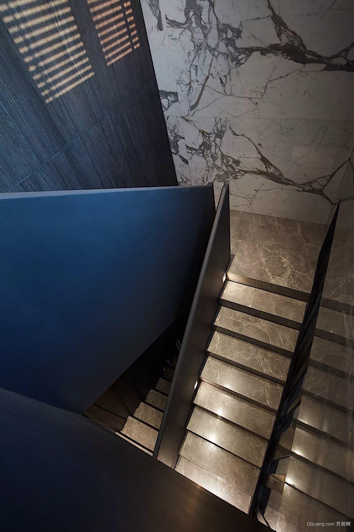 雅居乐中心广场现代简约装修效果图实景图