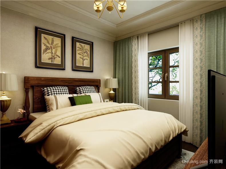 纽宾凯汉city国际社区美式风格装修效果图实景图
