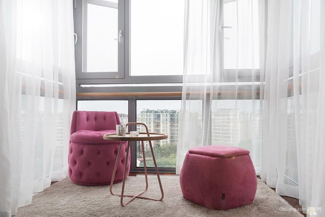 紫晶悦城混搭风格装修效果图实景图