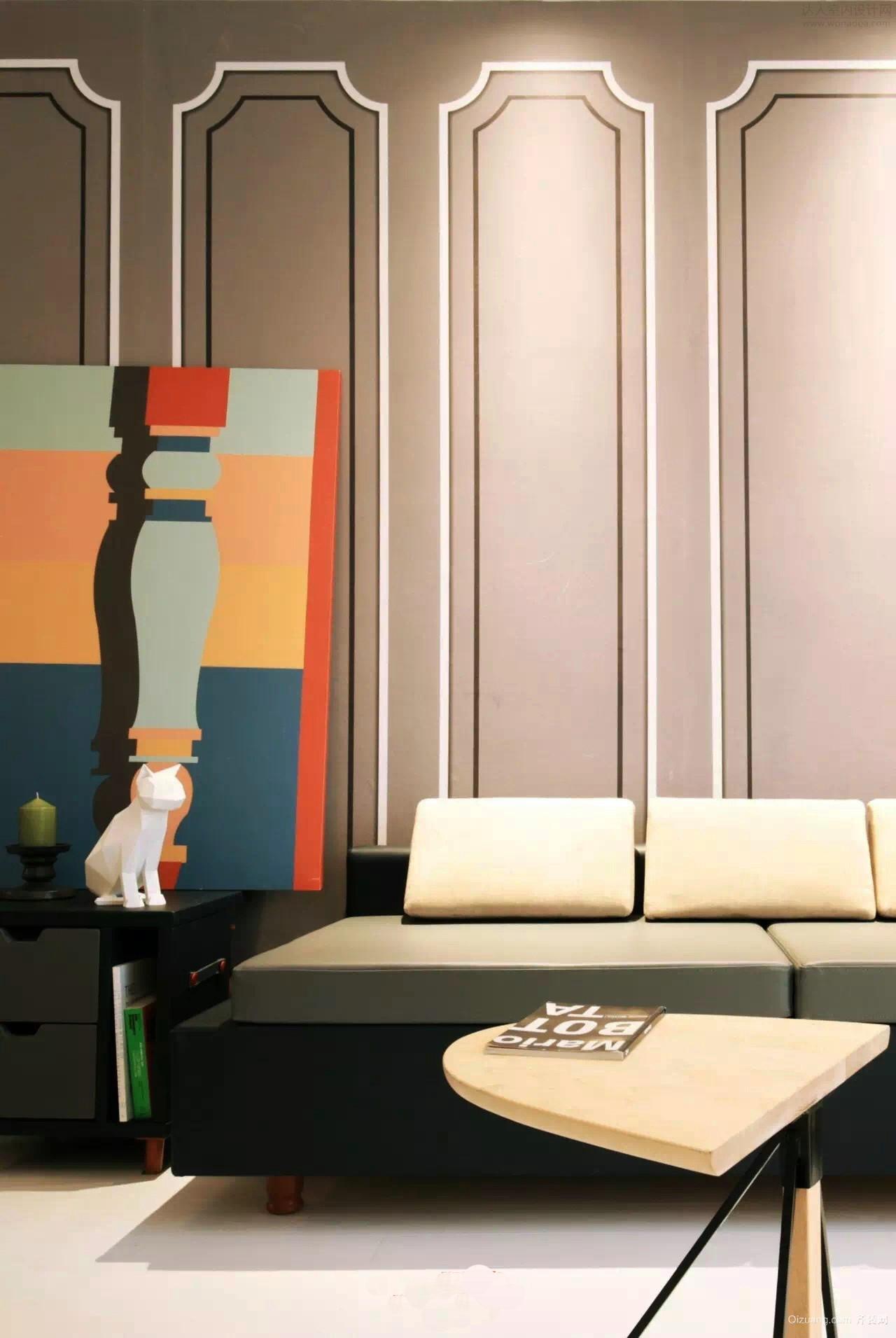 赛纳丽城混搭风格装修效果图实景图