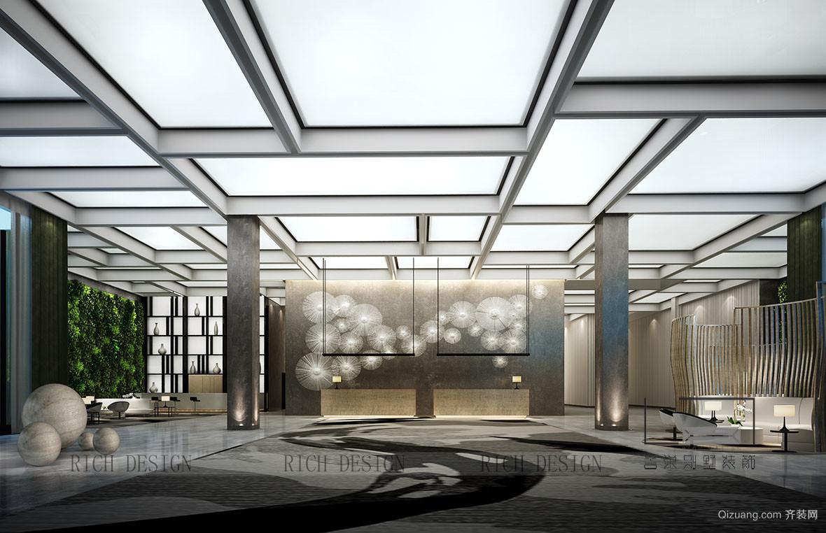 金太阳酒店现代简约装修效果图实景图