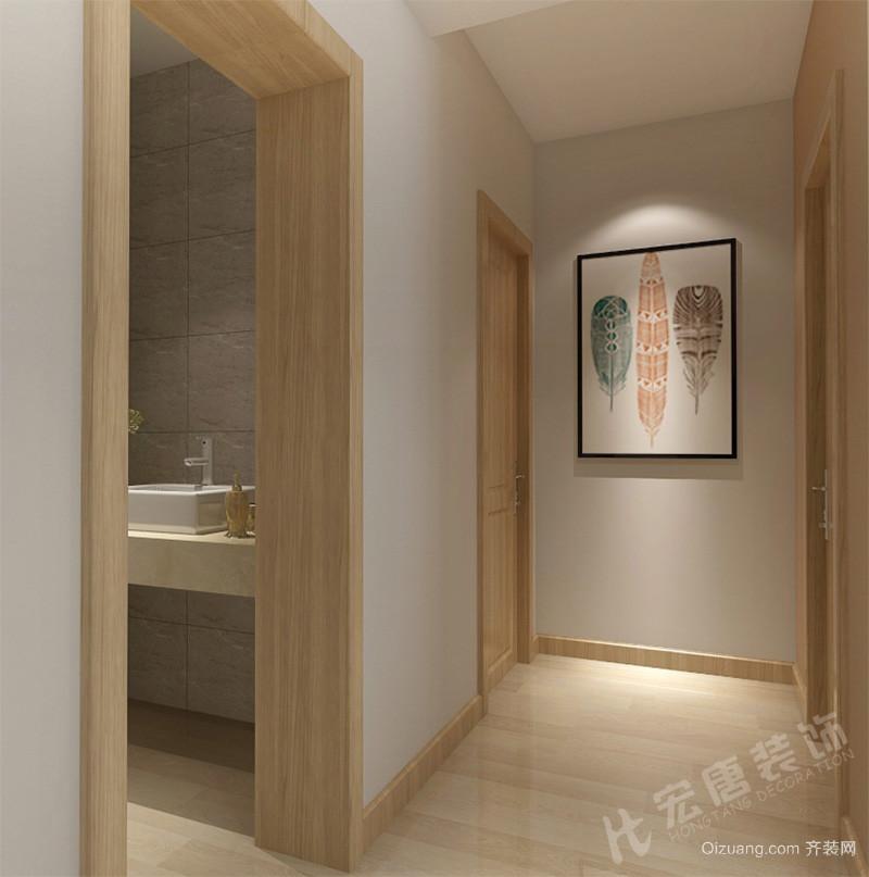 六合家园现代简约装修效果图实景图