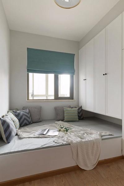 武漢70㎡兩室一廳北歐裝修設計裝修設計案例