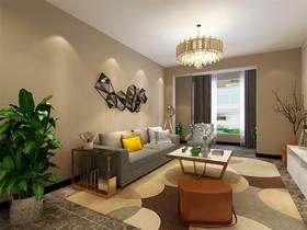 奥莱城 两居室 现代风格